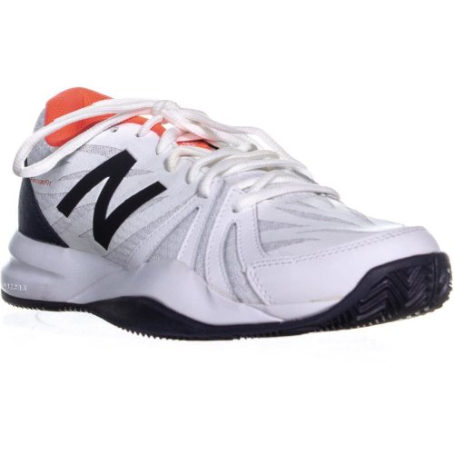 New Balance WCH786C2 Lace Up Athetlic Sneakers, Vivid Coral/White, 9 UK