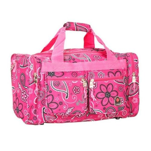 2b179158e Rockland PTB419-PINK BANDANA 19 in. Tote Bag Rockland on OnBuy