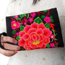 Double-sided Embroidery Needlecrafts Handmade Embroidery, Wallet & Purse bag(8)