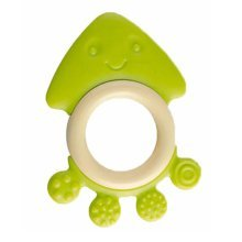 Baby Teether, Safety Baby Teeth Stick For 3-12 months Green Octopus