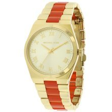 Michael Kors Channing Gold-Tone Ladies Watch MK6153