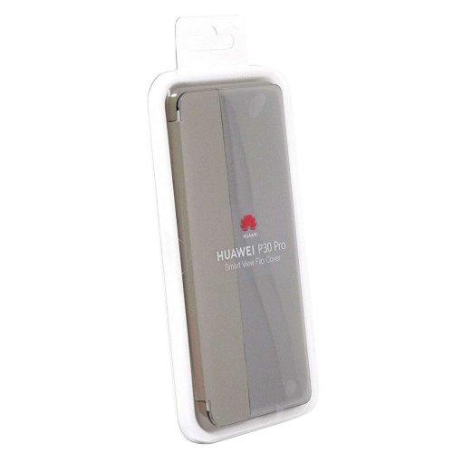 Genuine Official Huawei P30 Pro Smart View Flip Cover Case - Khaki (51992886)