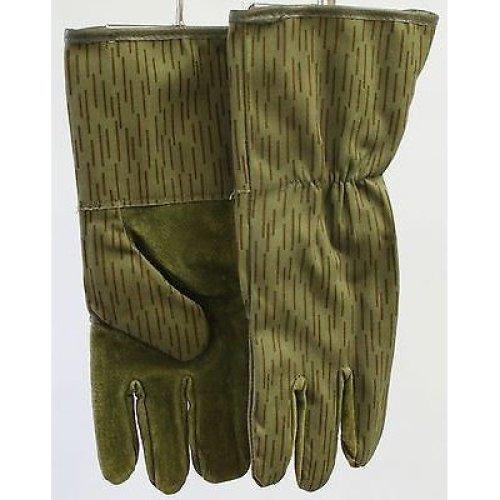 Genuine German Nva Rain Pattern Strichtarn Gloves