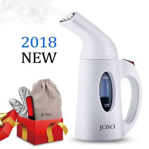 JOSO Garment Steamers Clothes Steamer Mini Handheld Steamer Automatic Shut-Off Protection 800W Fast Heating Portable Clothing Steamer 150ml Water...