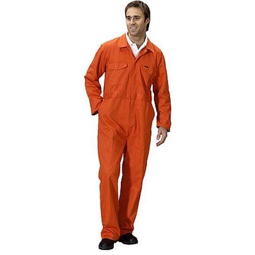 """Click PCBSOR34 Polycotton Boiler Suit Orange 34"""""""