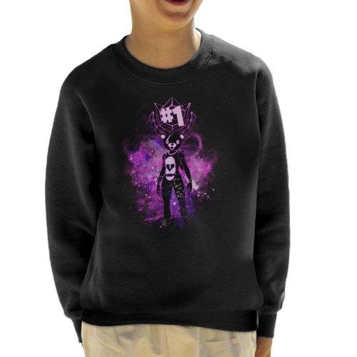 Fortnite Battle Royale Teddy Bear Kid's Sweatshirt