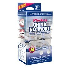 Plackers Grind No More Dental Night Protector, 14 Count