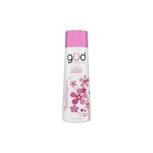 Gud Natural Floral Cherrynova Nourishing Shampoo, 12 fz (Pack of 3)