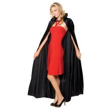 Crushed Velvet Vampire Cape