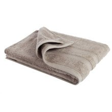 New Egyptian Cotton Soft High Quality Solid Color Washcloth Bath Towel Flannel, Light Brown(34x75cm)