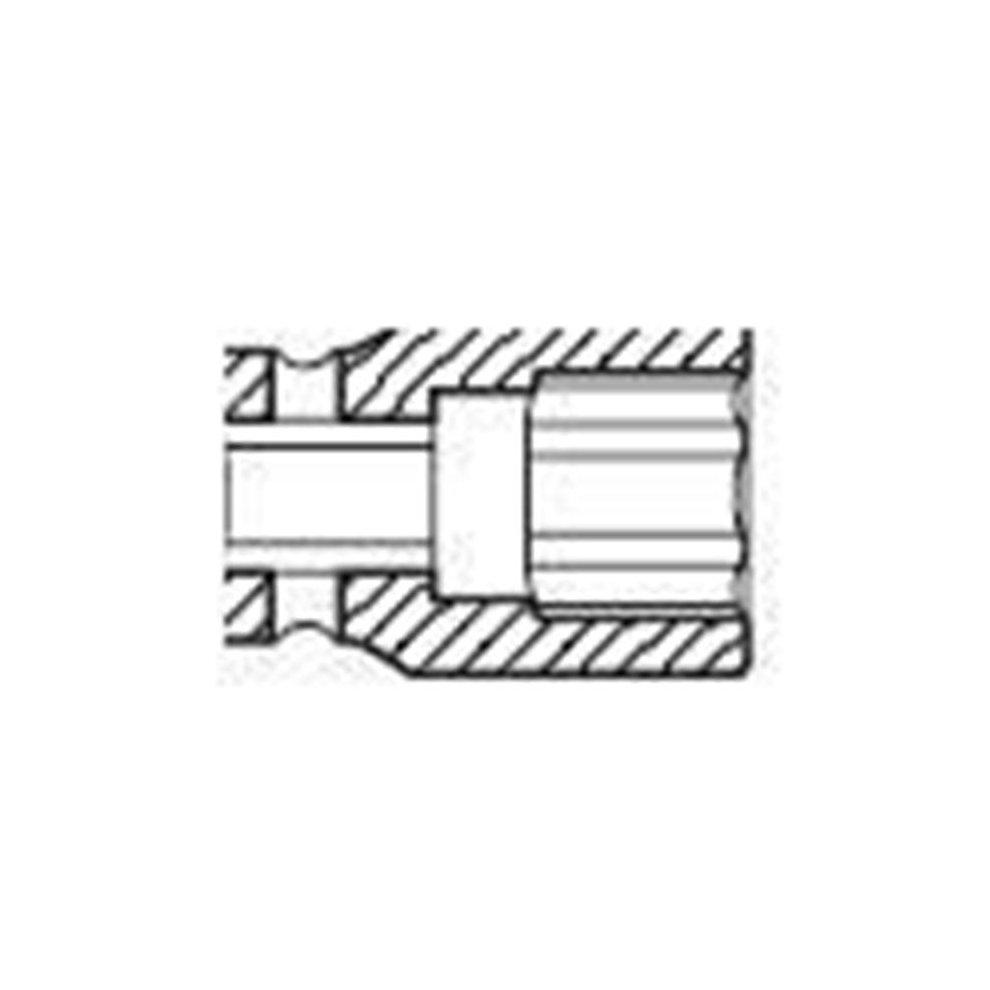Sunex 234zm 1//2-Inch Drive 34-mm 12 Point Impact Socket