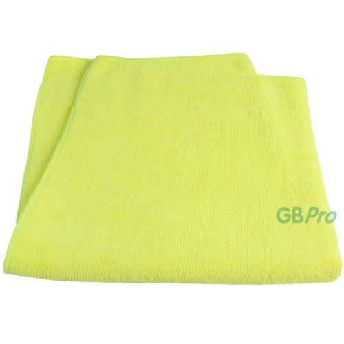 GBPro Eco Premium Microfibre Cloth - Yellow (40 x 40cm)