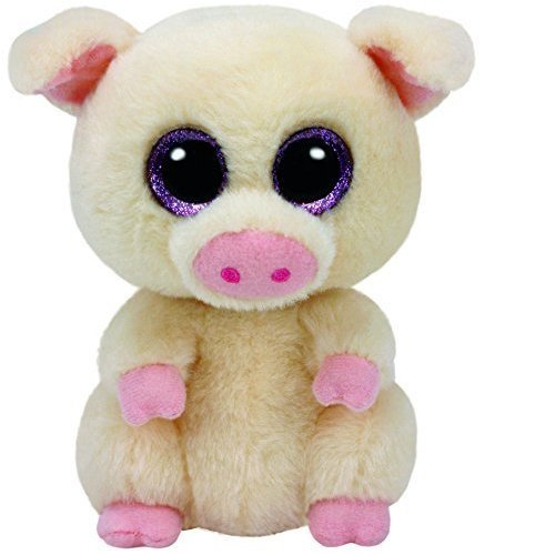 "Ty Beanie Boo 6"" Piggley the Pig"