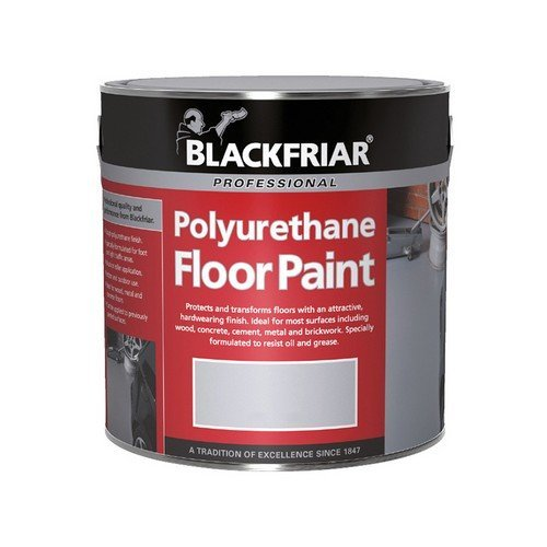 Blackfriar BF2000001E1 Professional Polyurethane Floor Paint Tile Red 500ml