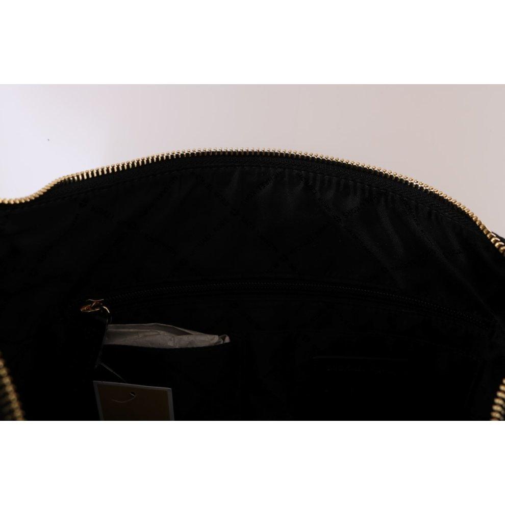 6dbf1ce022b8 ... Michael Kors Handbags Black ARIA Leather Shoulder Bag - 4 ...