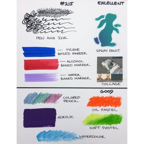 """Crescent Marker Board 3/Pkg-5""""X7"""" White"""