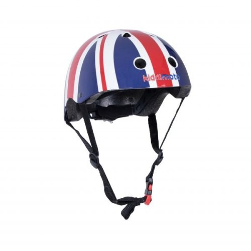 Kiddimoto Children's Bike / Scooter / Skateboarding Helmet - Union Jack Design