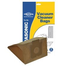 Electruepart BAG40 pack of 5 to fit Panasonic Cylinder Vacuum Cleaners