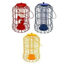 NEW MODELS Hanging feeder Squirrel Proof Guard Bird Fat Ball Seed Nut feeding GardenTray[All Three Models]
