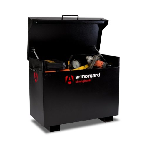 Armorgard StrongBank SB3 Site Secure Box Storage Safe Store 1300x690x670mm