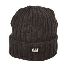 Caterpillar Night Watch Hat Black
