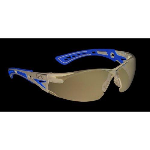 Bolle RUSH+ RUSHPPSFY Safety Glasses - Smoke Lens