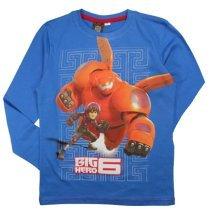 Big Hero 6 Long T Shirt - Blue