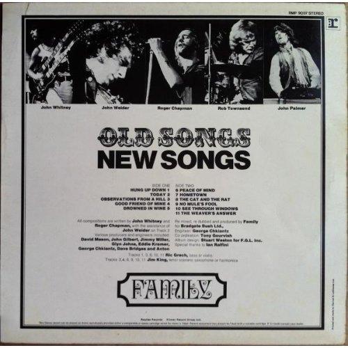 Old Songs, New Songs (UK 1971) , Family