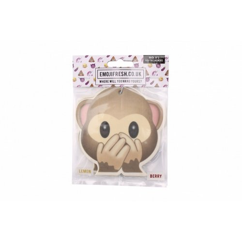 Emojifresh Cheeky Monkey Air Fresheners (Pack Of 2)