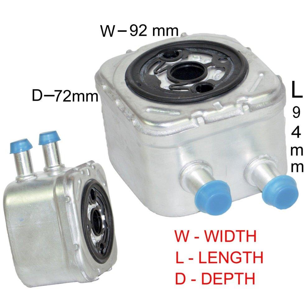 OIL COOLER FOR VW BORA GOLF MK3 MK4 PASSAT POLO SHARAN VENTO 1 9 TDI 2 3 V5  2 8