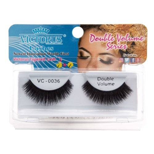 Victorus Strip Lashes VC-0036 Double Volume False Lashes