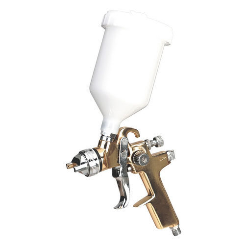 Sealey S701G Gold Series Gravity Feed Spray Gun 1.4mm Set-Up