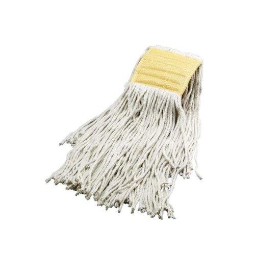Janico 3016 PE No.16 Choice Cotton Mop Head, White - Case of 12
