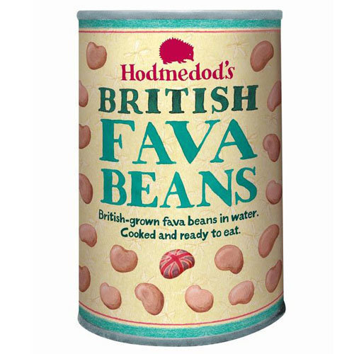 Hodmedods  Whole Cooked Fava Beans In Water - Can 400g