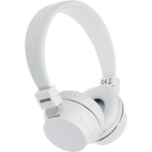 Denver BTH-205WHITE Wireless Bluetooth headset BTH-205WHITE