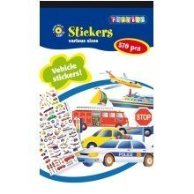 Pbx2470627 - Playbox - Sticker Pad (vehicles) - 570 Pcs