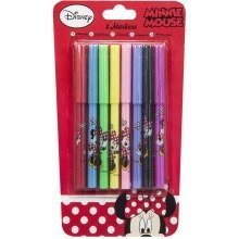 Minnie Mouse Felt Pens - Set of 8