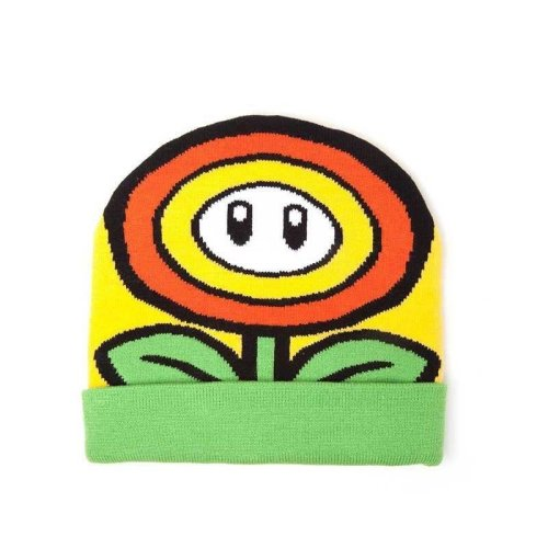 Super Mario Bros Sunflower Cuffed Beanie - Multi-colour (KC170201NTN)