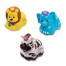 Vtech Toot Toot Animals 3 Pack ( Elephant, Zebra, Lion)
