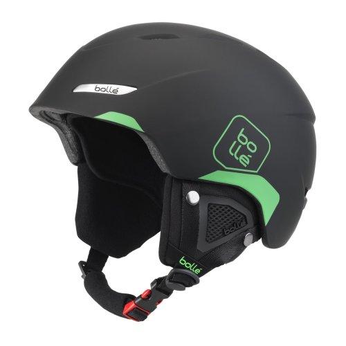 Bolle B-YOND Ski Helmet - Soft Black & Green