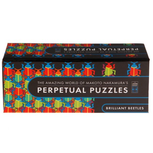 Perpetual Puzzles Brilliant Beetles Jigsaw Puzzle (36 Pieces)