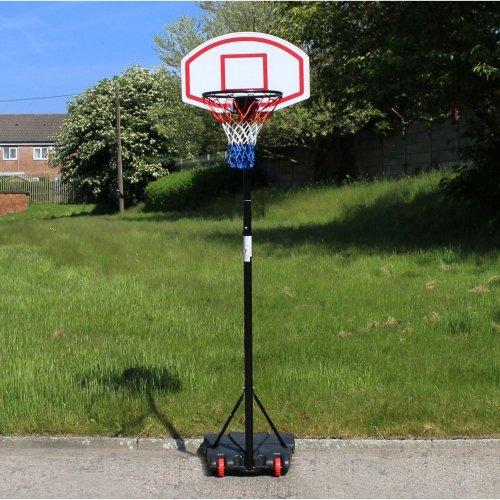 Free Standing Basketball Net Hoop Backboard Adjustable Stand Set