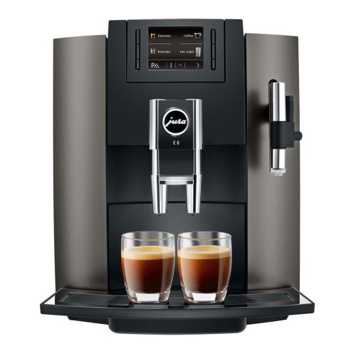 Jura E8 Bean To Cup Programmable Coffee Machine 15 Bar Milk