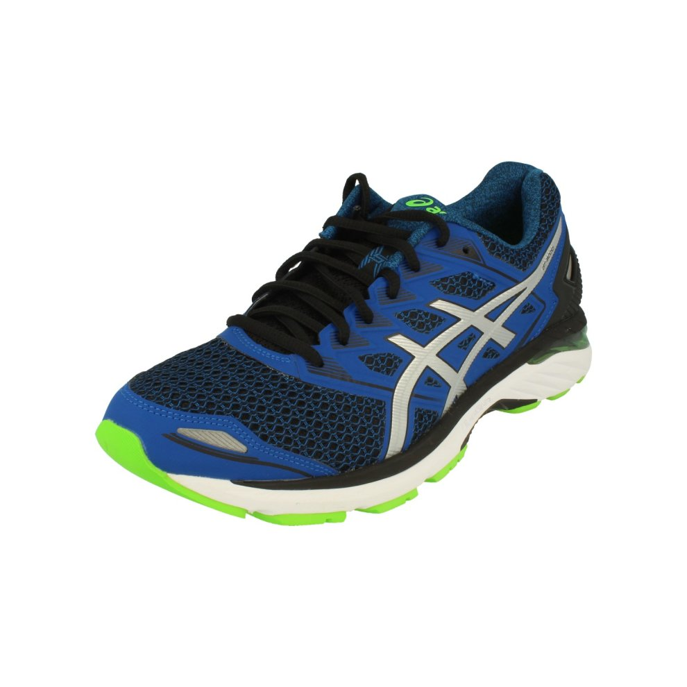 newest a8d79 d27d2 Asics GT-3000 5 Mens Running Trainers T705N Sneakers Shoes (uk 8 us 9 eu  42.5, black silver imperial 9093)