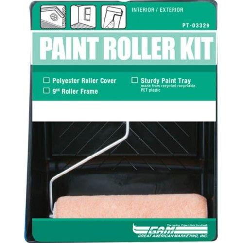 Gam Paint Brushes 3 Piece Paint Roller Kit  PT03329