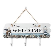 Wooden Hanging Hook Clothes/Keys/Hats Hook Home Decoration Personalized Wall Shelf Row Hook #9