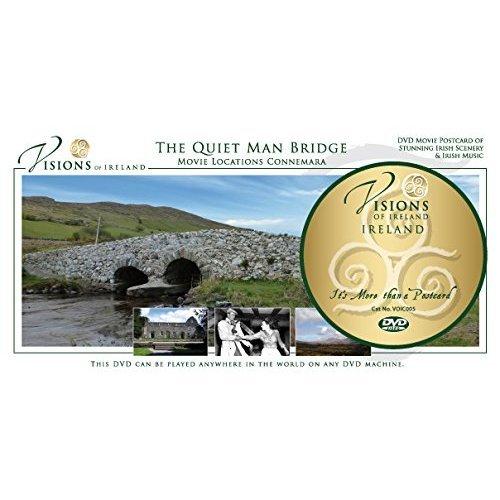 Visions Of Ireland - The Quiet Man Bridge Postcard DVD