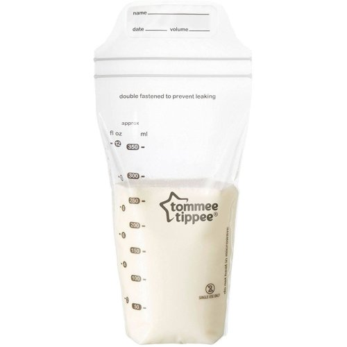 Tommee Tippee Closer to Nature Milk Storage Bags x 36