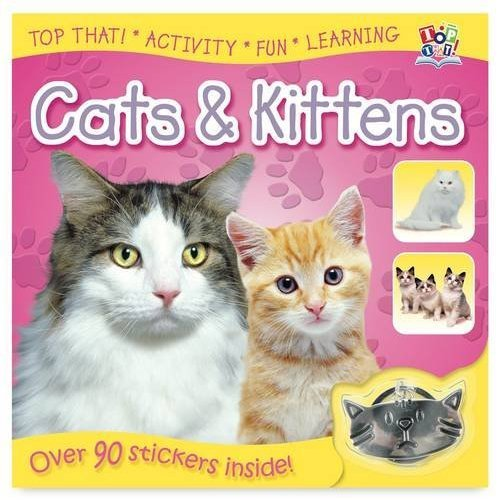 Sticker Reference Book - Cats and Kittens (Sticker Reference Books)
