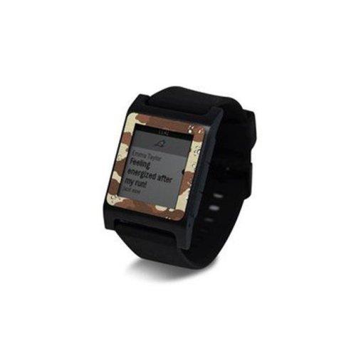 DecalGirl PW2SE-DCAMO Pebble 2 SE Smart Watch Skin - Desert Camo